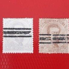 Sellos: ESPAÑA 1872. EDIFIL 121,122,124 Y 126. Lote 285257083