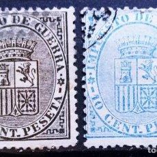 Sellos: ESPAÑA - AÑO 1874 - EDIFIL Nº 141/42 USADO - LOS DE LA FOTO. Lote 287812188