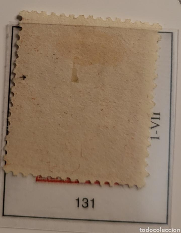 Sellos: Sello de España 1873 Alegoría de la República 2 c d peseta Edifil 131 Nuevo - Foto 2 - 289638463