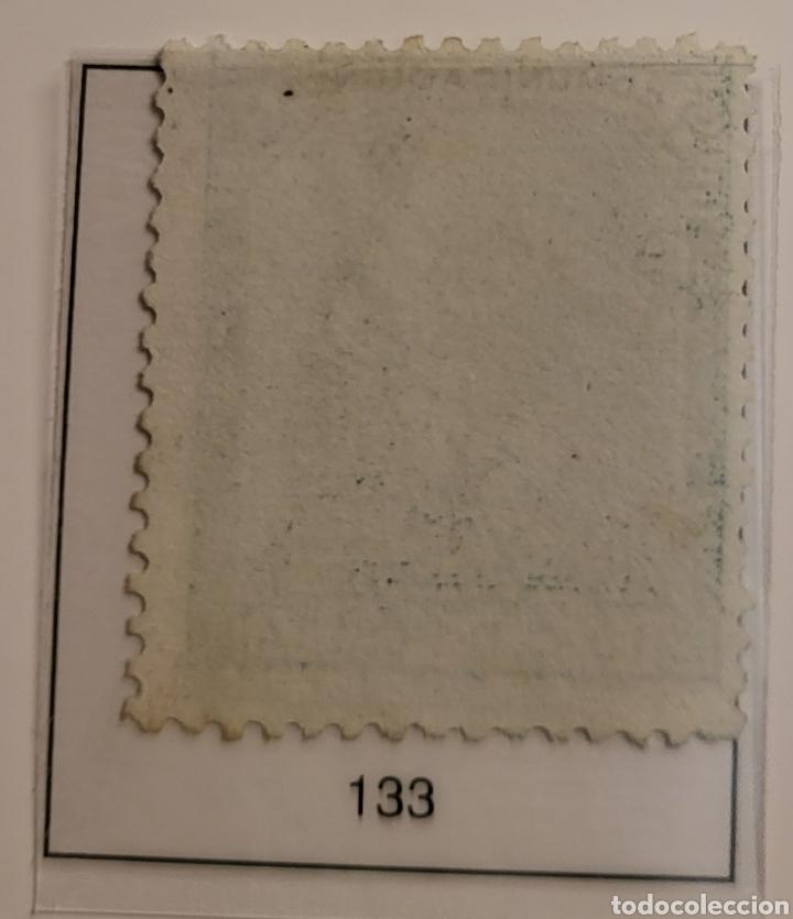 Sellos: Sello de España 1873 Alegoría de la República 10 c d peseta Edifil 133 Nuevo - Foto 2 - 289638578