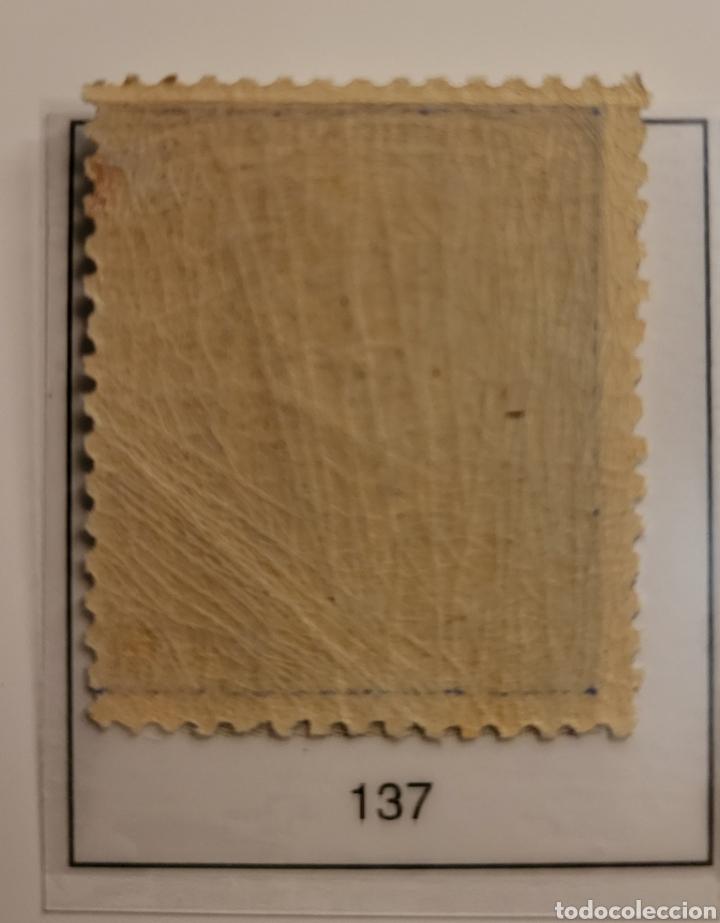 Sellos: Sello de España 1873 Alegoría de la República 50 c d peseta Edifil 137 Nuevo - Foto 2 - 289638678