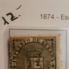 Sellos: SELLO DE ESPAÑA 1874 ESCUDO DE ESPAÑA 5 CENT. DE PESETA EDIFIL 141 NUEVO. Lote 289638868
