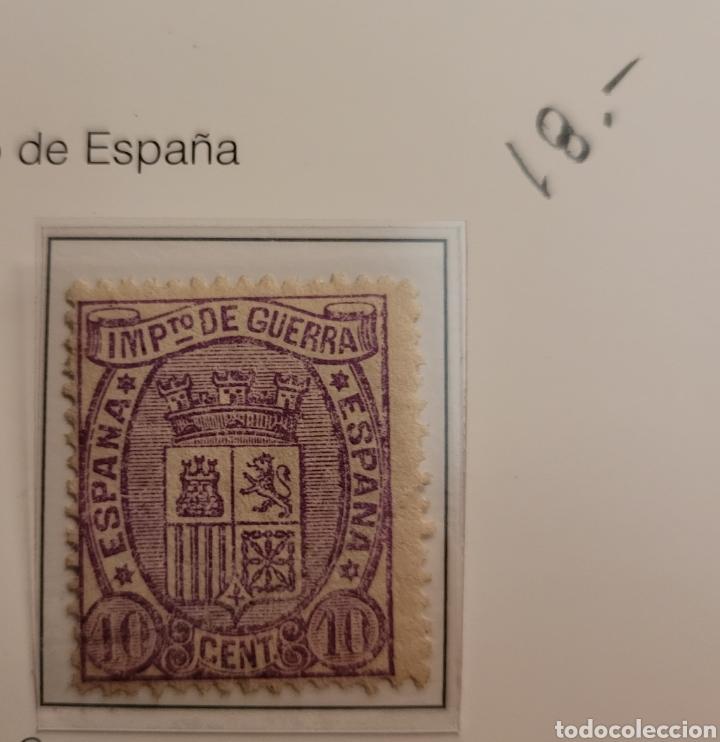 SELLO DE ESPAÑA 1874 ESCUDO DE ESPAÑA 10 CENT. DE PESETA EDIFIL 155 NUEVO (Sellos - España - Amadeo I y Primera República (1.870 a 1.874) - Nuevos)