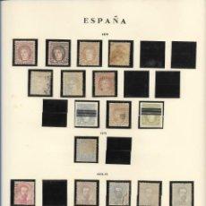 Sellos: ESPAÑA CORREOS 1870,72,73. Lote 289682683