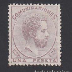 Sellos: ESPAÑA, 1872 EDIFIL Nº 127 (**), 1 PTS LILA.. Lote 289758353