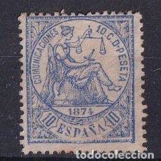 Selos: SELLOS ESPAÑA AÑO 1874 OFERTA EDIFIL 145 EN NUEVO VALOR DE CATALOGO 19 €. Lote 290503483