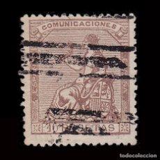 Selos: BARRADO.ALEGORÍA ESPAÑA.1873.10P.EDIFIL 140. Lote 293480263
