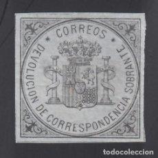 Sellos: ESPAÑA. 1875 EDIFIL Nº 172 (*), ESCUDO DE ESPAÑA.. Lote 293619728