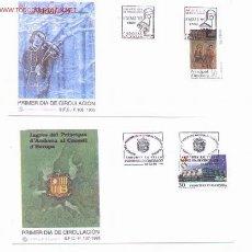 Sellos: 29-19. SPD ANDORRA 1995. Lote 87788