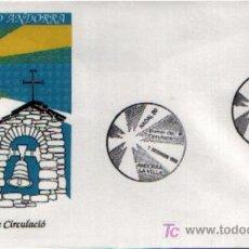 Sellos: SPD DE ANDORRA ESPAÑOLA NADAL'89. Lote 5043112