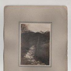 Sellos: ANTIGUA Y PRECIOSA FOTOGRAFIA ANDORRA CAMINO DE ORDINO. Lote 5142530
