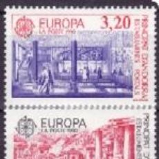 Sellos: ANDORRA FRANCESA 1990 388/89 EUROPA CEPT. Lote 8203097