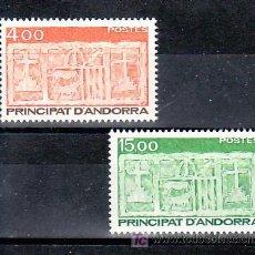 Sellos: ANDORRA FR. 346/7 SIN CHARNELA, ESCUDO PRIMITIVO DEL VALLE, . Lote 10581834