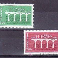 Sellos: ANDORRA FR. 329/30 SIN CHARNELA, TEMA EUROPA 1984, 25º ANIVERSARIO CONFERENCIA EUROPEA, . Lote 11388332