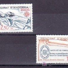 Sellos: ANDORRA FR. 300/1 SIN CHARNELA, TEMA EUROPA 1982, HECHOS HISTORICOS, . Lote 10594816