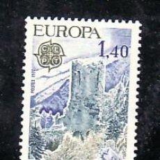 Sellos: ANDORRA FR. 262 SIN CHARNELA, PAISAJE, CASTILLO DE SAN VICENTE, . Lote 11272261
