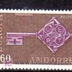 Sellos: ANDORRA FR. 189 SIN CHARNELA, EUROPA, . Lote 10799520