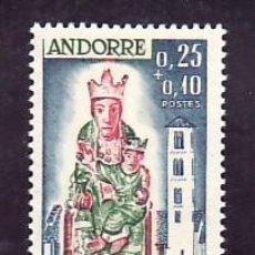 Sellos: ANDORRA FR. 172 SIN CHARNELA, RELIGION, CRUZ ROJA, VIRGEN DE LOS REMEDIOS DE SANTA COLOMA,. Lote 11232102