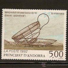 Sellos: ANDORRA CORREO FRANCES Nº 424 ANFIL 1992. Lote 9591458
