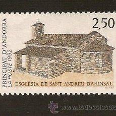 Sellos: ANDORRA CORREO FRANCES Nº 415 ANFIL 1992. Lote 9591473