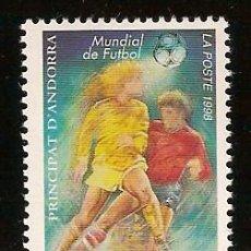 Sellos: ANDORRA CORREO FRANCES Nº 502 ANFIL 1998. Lote 9660311