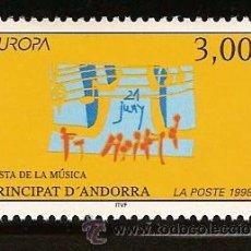 Sellos: ANDORRA CORREO FRANCES Nº 503 ANFIL 1998. Lote 9660323