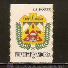 Sellos: ANDORRA CORREO FRANCES Nº 504 ANFIL 1998. Lote 9660335