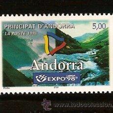 Sellos: ANDORRA CORREO FRANCES Nº 505 ANFIL 1998. Lote 9660363