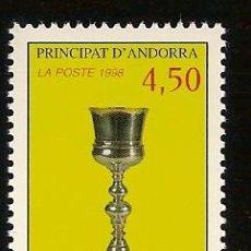 Sellos: ANDORRA CORREO FRANCES Nº 506 ANFIL 1998. Lote 9660381