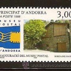 Sellos: ANDORRA CORREO FRANCES Nº 510 ANFIL 1998. Lote 9660421