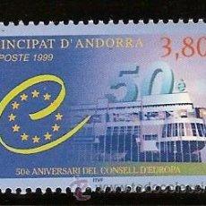 Sellos: ANDORRA CORREO FRANCES Nº 514 ANFIL 1999. Lote 9660462