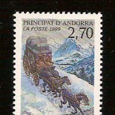 Sellos: ANDORRA CORREO FRANCES Nº 515 ANFIL 1999. Lote 9660473