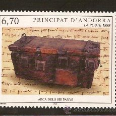 Sellos: ANDORRA CORREO FRANCES Nº 523 ANFIL 1999. Lote 9660563
