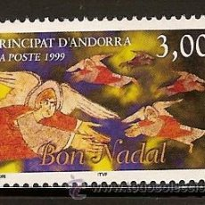 Sellos: ANDORRA CORREO FRANCES Nº 524 ANFIL 1999. Lote 9660573