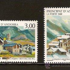 Sellos: ANDORRA CORREO FRANCES Nº 519-520 ANFIL 1999. Lote 9660617