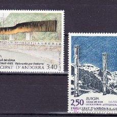 Sellos: ANDORRA FR. 430/1 SIN CHARNELA, TEMA EUROPA 1993, ARTE CONTEMPORANEO, . Lote 10587167
