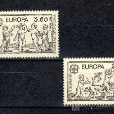Sellos: ANDORRA FR. 378/9 SIN CHARNELA, TEMA EUROPA 1989, JUEGOS INFANTILES, . Lote 10587229