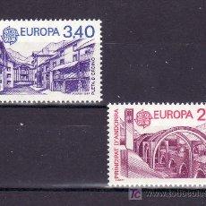 Sellos: ANDORRA FR. 358/9 SIN CHARNELA, TEMA EUROPA 1987, ARQUITECTURA MODERNA, . Lote 10587248