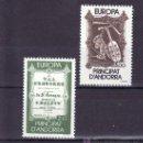 Sellos: ANDORRA FR. 339/40 SIN CHARNELA, TEMA EUROPA 1985, AÑO EUROPEO DE LA MUSICA, . Lote 10587301
