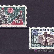 Sellos: ANDORRA FR. 253/4 SIN CHARNELA, TEMA EUROPA 1976, ARTESANIA, . Lote 10587357