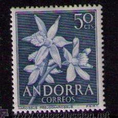 Sellos: ANDORRA ESPAÑOLA 1966 EDIFIL Nº 68 FLORES DE 50 CENTIMOS. Lote 10918664