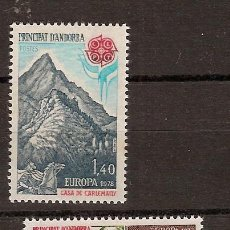 Sellos: ANDORRA FR. 269-70 SIN CHARNELA, TEMA EUROPA 1978, MONUMENTOS. Lote 26969703