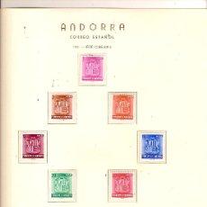 Timbres: SELLOS AÑO 1982 ANDORRA ESPAÑOLA COMPLETO. Lote 26055083