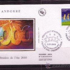 Sellos: ANDORRA SPD 525 - AÑO 2000 - CELEBRACION DEL AÑO 2000. Lote 15313256