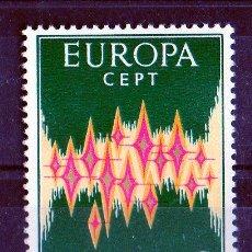 Sellos: ANDORRA ESPAÑOLA AÑO 1972 YV 64 A*** TEMA EUROPA - ALEGORÍA. Lote 26771304
