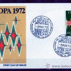Sellos: ANDORRA ESPAÑOLA AÑO 1972 YV 64 A - SPD - EUROPA. Lote 26771305