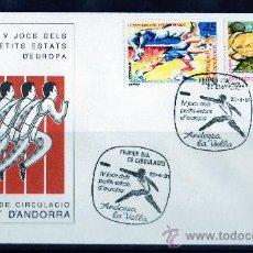 Sellos: ANDORRA ESPAÑOLA AÑO 1991 YV 223/4 SPD - V JUEGOS PEQUEÑOS ESTADOS DE EUROPA - DEPORTES. Lote 19906746