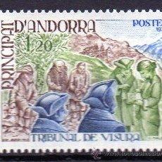 Sellos: ANDORRA FRANCESA AÑO 1978 YV 272*** TRIBUNAL DE VISURA. Lote 15691854