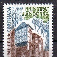 Sellos: ANDORRA FRANCESA AÑO 1980 YV 282*** CAL PAL DE LA CORTINADA - ARQUITECTURA. Lote 15692151