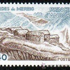 Sellos: ANDORRA FRANCESA AÑO 1981 YV 291*** BORDES DE MEREIG - ARQUITECTURA - TURISMO. Lote 15692373